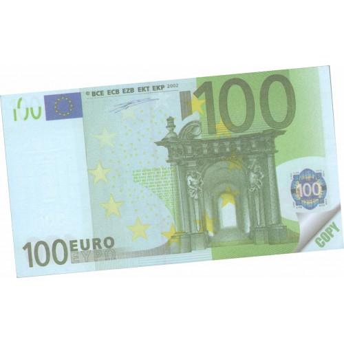 MONEY NOTES 100€ (μπλοκάκι)