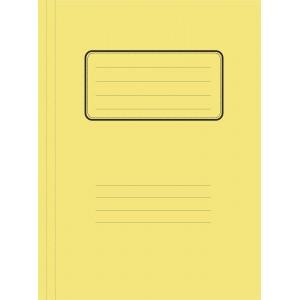 Ντοσιέ μανίλα με έλασμα 26x34 κίτρινο