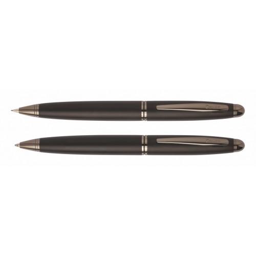 Σετ δώρου με ballpoint & μηχανικό μολύβι 88 KNIGHT μαύρο ματ