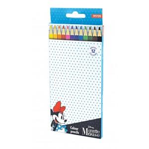 Ξυλομπογιές 12 χρωμάτων Minnie 3mm