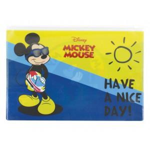 Φάκελος ΡΡ με φερμουάρ Mickey Α4