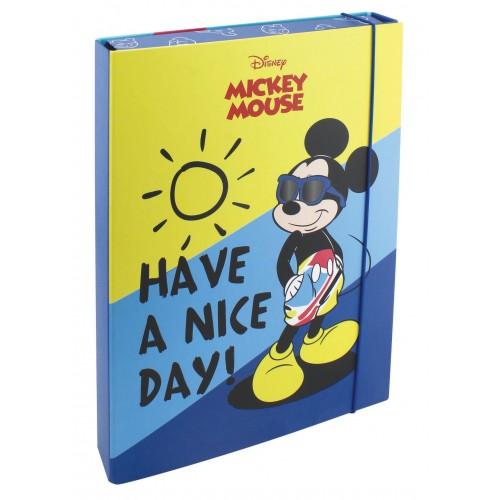 Κουτί με λάστιχο Mickey 23x31,5x55mm