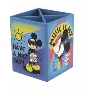 Μολυβοθήκη 4 θέσεωμ από σκληρό χαρτόνι Mickey