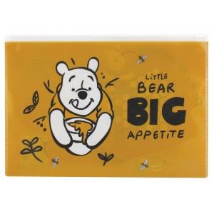Φάκελος ΡΡ με φερμουάρ Winnie the Pooh Α4