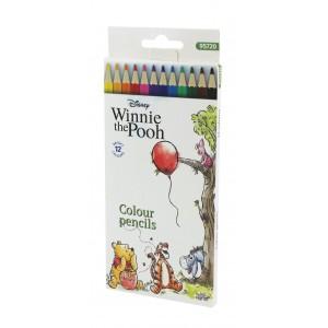 Ξυλομπογιές 12 χρωμάτων Winnie the Pooh 3mm