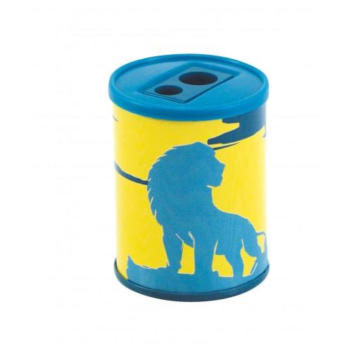 Ξύστρα μεταλλική διπλή Lion King