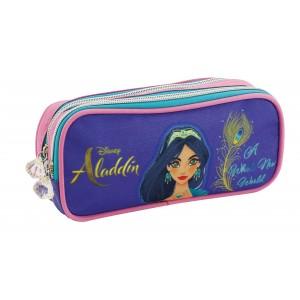 Μολυβοθήκη με 2 φερμουάρ Aladdin 23x10x6cm