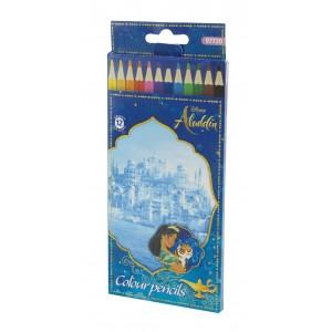 Ξυλομπογιές 12 χρωμάτων Aladdin 3mm