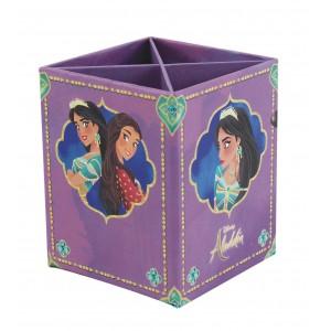 Μολυβοθήκη 4 θέσεων από σκληρό χαρτόνι Aladdin