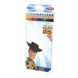 Ξυλομπογιές 12 χρωμάτων Toy Story 4 3mm