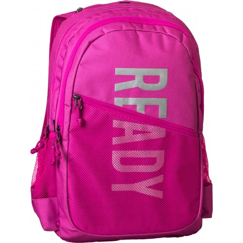 Σακίδιο πλάτης READY  ροζ 43x32x15cm